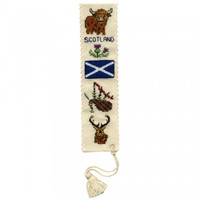 Symbols of Scotland Bookmark By Textile Heritage