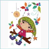 Playtime Cross Stitch Kit by Stitching Shed