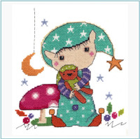 Time for Bed Cross Stitch Kit by Stitching Shed