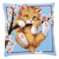 Cross Stitch Kit: Cushion: Hanging by Vervaco