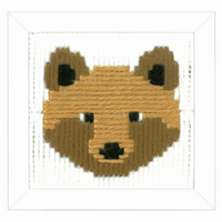 Childrens Long Stitch Kit: Bruno By Vervaco