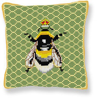 Bumble Bee Tapestry cushion kit by Brigantia