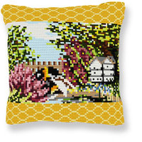 Beehive Tapestry cushion kit by Brigantia