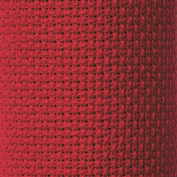 Christmas Red - Zweigart 14 count Stern Aida Christmas Red 53 x 48cm
