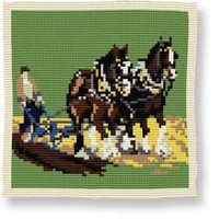 Ploughing Tapestry Kit by Brigantia
