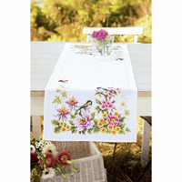 Counted Cross Stitch Kit: Runner: Spring Mood By Vervaco