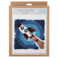 Latch Hook Kit: Rocket By Trimmit