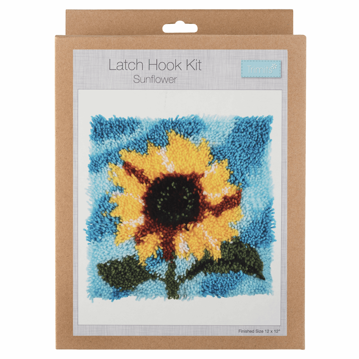 Vervaco Sunflowers Latch Hook Kit