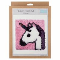 Latch Hook Kit: Unicorn By Trimmit