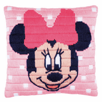 Long Stitch Kit: Cushion: Disney: Minnie Mouse  By Vervaco