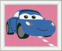 Tapestry Kit: Disney Cars: Sally  By vervaco