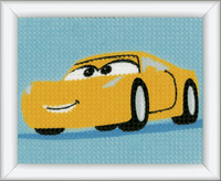 Long Stitch Kit: Disney: Cars - Cruz  By Vervaco