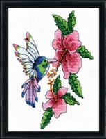Hummingbird Cross Stitch By Design Works