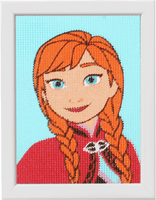 Long Stitch Kit: Disney: Frozen - Anna 2  By Vervaco