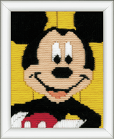 Long Stitch Kit: Disney: Mickey Mouse By Vervaco