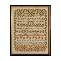Band Cross Stitch Sampler By Historical Sampler Company