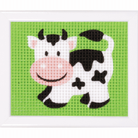 Tapestry Kit: Cow By Vervaco