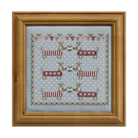 Chilly Dogs Cross Stitch By Historical Sampler Company