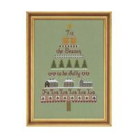 Christmas Tree Cross Stitch By Historical Sampler Company