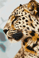 The Leopard Cross Stitch Kit by Luca S