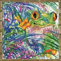 Tree Frog 2 Cross Stitch Kit By Design Works