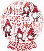 Lets Mingle and Jingle Cross Stitch Chart by Ursula Michael