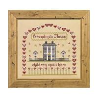 Grandma's House Cross Stitch By Historical Sampler Company