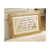 House Rules Cross Stitch By Historical Sampler Company