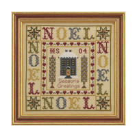 Noel Sampler Cross Stitch By Historical Sampler Company