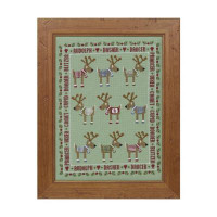 Rudolf And Friends Cross Stitch By Historical Sampler Company