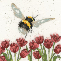 Flight of the Bumble Bee Cross Stitch Kit by Wrendale