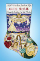 Nativity Stocking  By Design Works