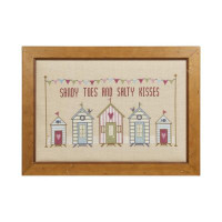 Sandy Toes Cross Stitch By Historical Sampler Company