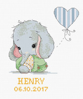 New Baby Cross stitch kit  by Luca s