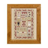Wedding Days Cross Stitch By Historical Sampler Company