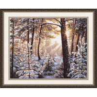 FROST AND SUNLIGHT cross stitch kit by OVEN