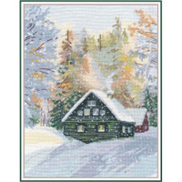 ENCHANTED FOREST cross stitch kit by OVEN