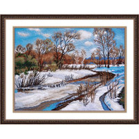 SPRING IS COMING cross stitch kit by OVEN