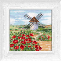 CASTILLA–LA MANCHA cross stitch kit by OVEN