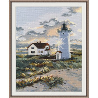 COASTAL LIGHTHOUSE cross stitch kit by OVEN