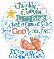 Lets Twinkle Cross stitch Chart By Ursala Michael