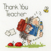 School's Out Cross Stitch Card Kit by Bothy threads