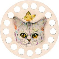 Buratini Thread Organizer Kitty 13cm by RTO