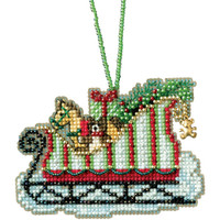 "Mill Hill Counted Cross Stitch Kit 3.5""X2.25"" by Mill Hill"