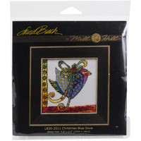 Christmas Blue Dove cross stitch kit by MILL HILL