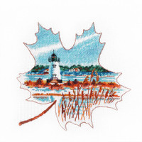 EDGARTOWN LIGHT  cross stitch kit by OVEN