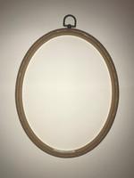 Oval Flexi Hoop Size 8 x 10 Inch