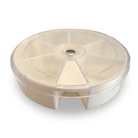 6 Compartment Round Storage Box
