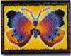 Butterfly Fantasy Latch Hook Kit
