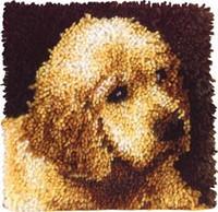 Puppy Love Latch Hook Rug Kit